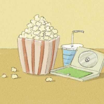 Kinoabend Im Zuhause Auf Zeit